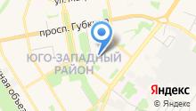 Альфа Принт на карте
