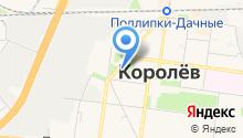 Королёвский городской суд на карте
