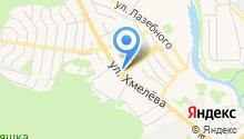 Магазин по продаже печатной продукции на ул. Хмелёва на карте