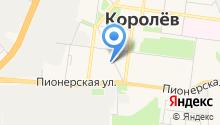 Королёвский отдел Управления Федеральной службы государственной регистрации на карте