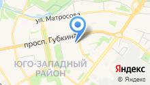 Городское бюро медико-социальной экспертизы по Белгородской области №18 на карте
