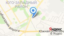 АЗС Лукойл-Черноземьенефтепродукт на карте