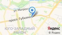 Дубки на карте