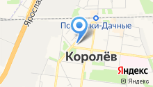 Контрольно-счетная палата г. Королёва на карте