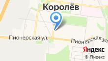 Мастерская по ремонту одежды на ул. Терешковой на карте