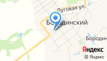 Бородинский поселковый центр досуга на карте