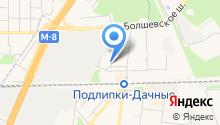 Б-Сервис на карте