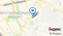 Белгородоблгаз на карте