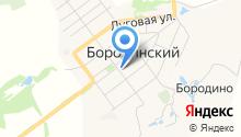 Бородинская детская музыкальная школа, МКУ на карте
