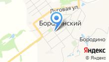Бородинская детская музыкальная школа на карте