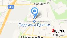 Веста-СА на карте