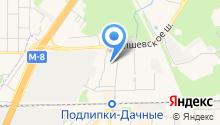 Королёвский центр занятости населения на карте