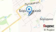 Пункт полиции Бородинский на карте