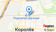 Куриный дом на карте