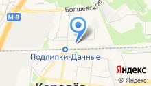 Королёвская электросеть СК на карте