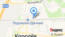 Магазин одежды на ул. Грабина на карте