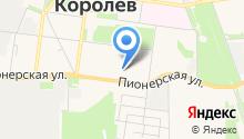Детская школа искусств г. Королёва на карте