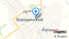 Щербаков на карте