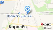 Королёвский Бизнес-Инкубатор на карте