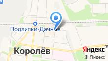 Магазин художественных товаров на карте
