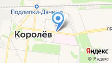 Комод на карте