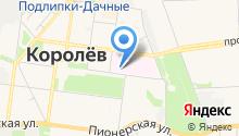 Взрослая поликлиника №1 на карте