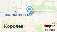 Единая Система Городских Платежей-Московская область на карте