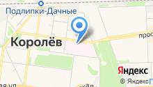 Королёвская городская больница №1 на карте