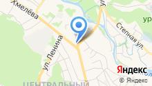 Ильинский храм на карте