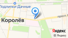 Наукоград на карте