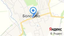 Автостоянка на ул. Соловцова на карте