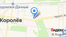 Первая прокуратура по надзору за исполнением законов на особо режимных объектах Московской области на карте