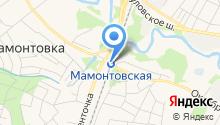 Мамонтовская на карте