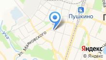 Уголовно-исполнительная инспекция УФСИН России по Московской области на карте