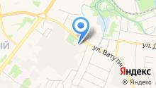 Охрана Росгвардии, ФГУП на карте