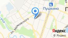 Мировые судьи Пушкинского района на карте