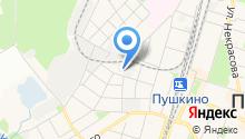 Авто-Пушкино на карте
