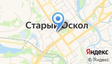 Избирательная комиссия Старооскольского городского округа на карте