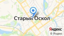 Государственная инспекция труда в Белгородской области на карте