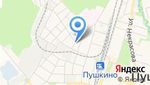 Пушкинская городская похоронная служба на карте