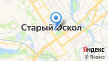 Любимый город на карте