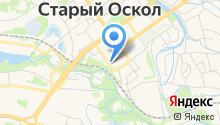 Оскольское на карте