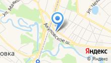 Авивент на карте