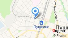 Пушкинская автошкола ДОСААФ России, НОЧУ на карте