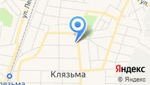 Поликлиника микрорайона Клязьма на карте