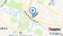 ЭКО Пицца Пушкино на карте