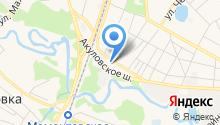 Отдел Военного комиссариата Московской области на карте