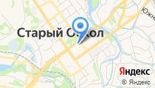 Отдел полиции №2 Управления МВД России по г. Старому Осколу на карте