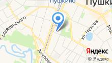 Шиномонтажная мастерская на ул. 50 лет Комсомола на карте