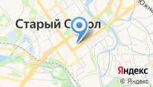 Кадастровая палата, ФБУ на карте